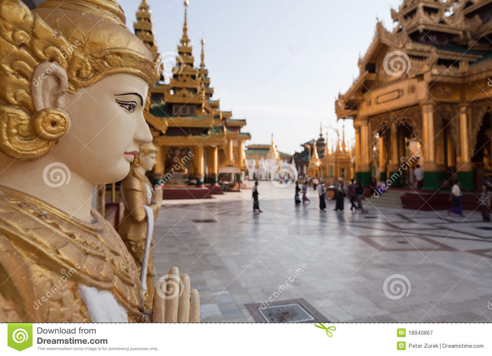 Pagodowy schwedagon