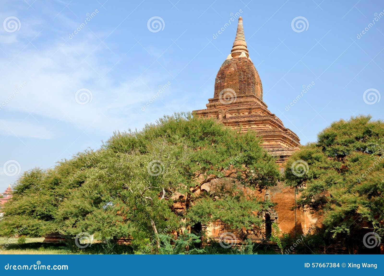 Pagody w Bagan, Myanmar