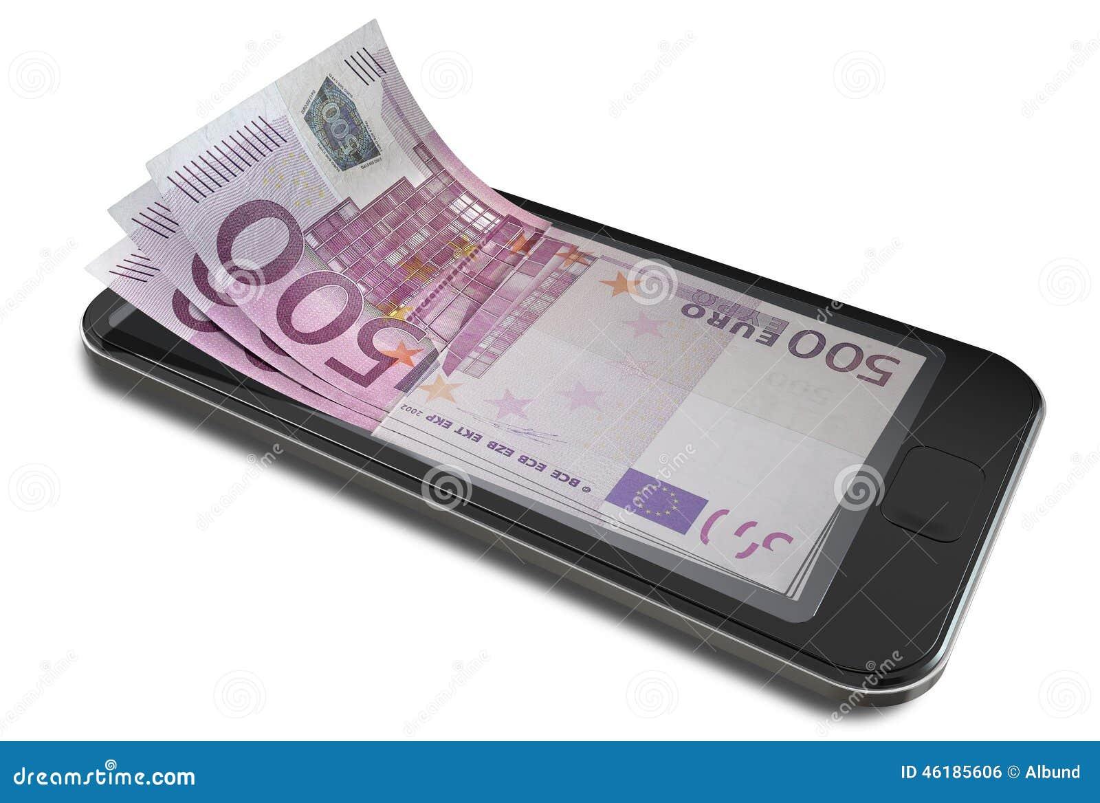 Pagos de Smartphone con euro