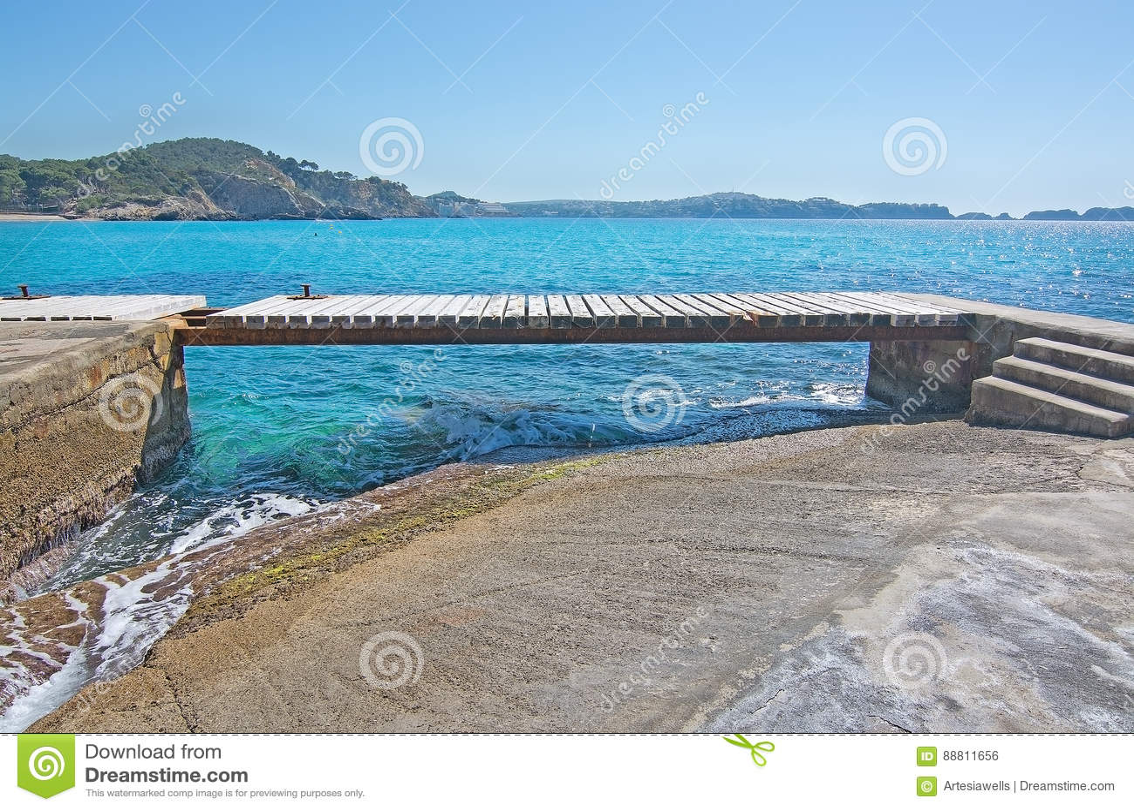 Paguera spring beach