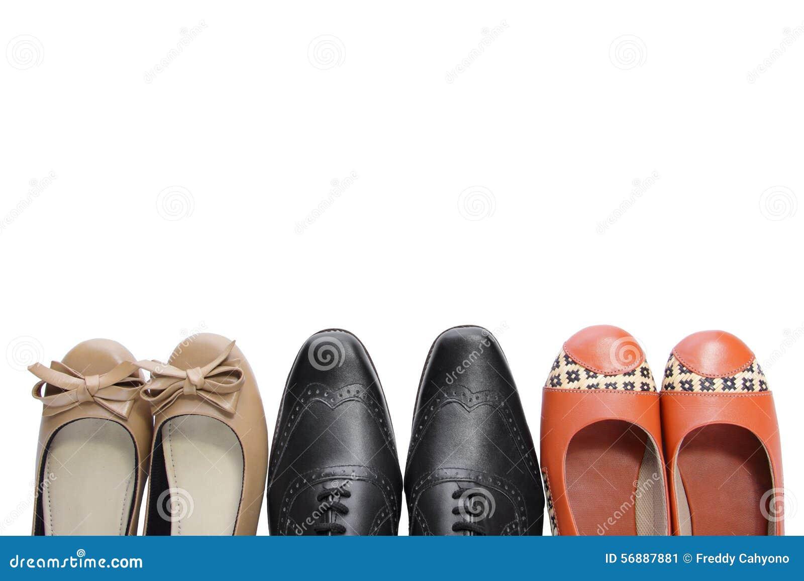 3 paia delle scarpe