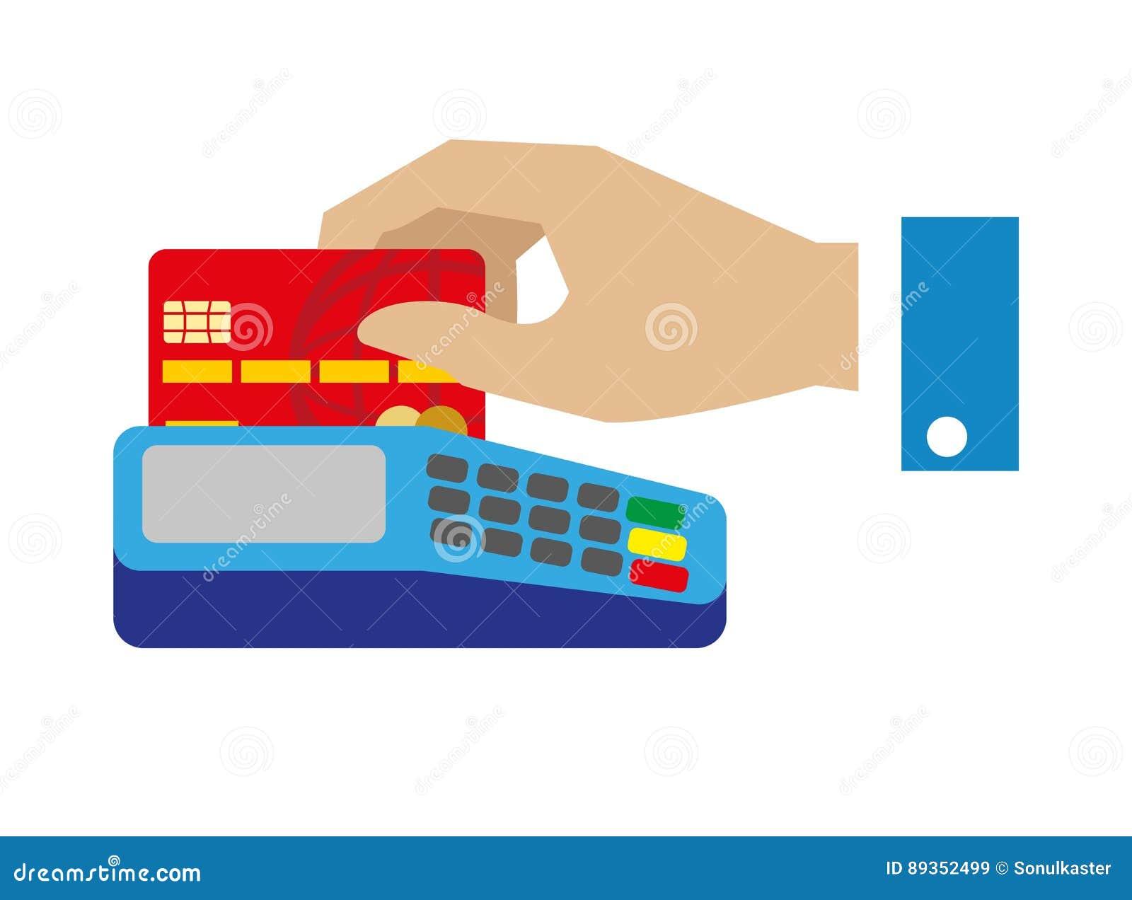 Carte Bancaire Gratuite Avec Argent.Paiement Gratuit D Argent Liquide Avec L Illustration De