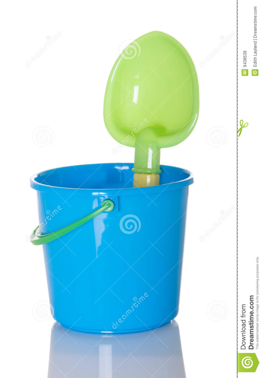 Pail and Shovel Beach Toy