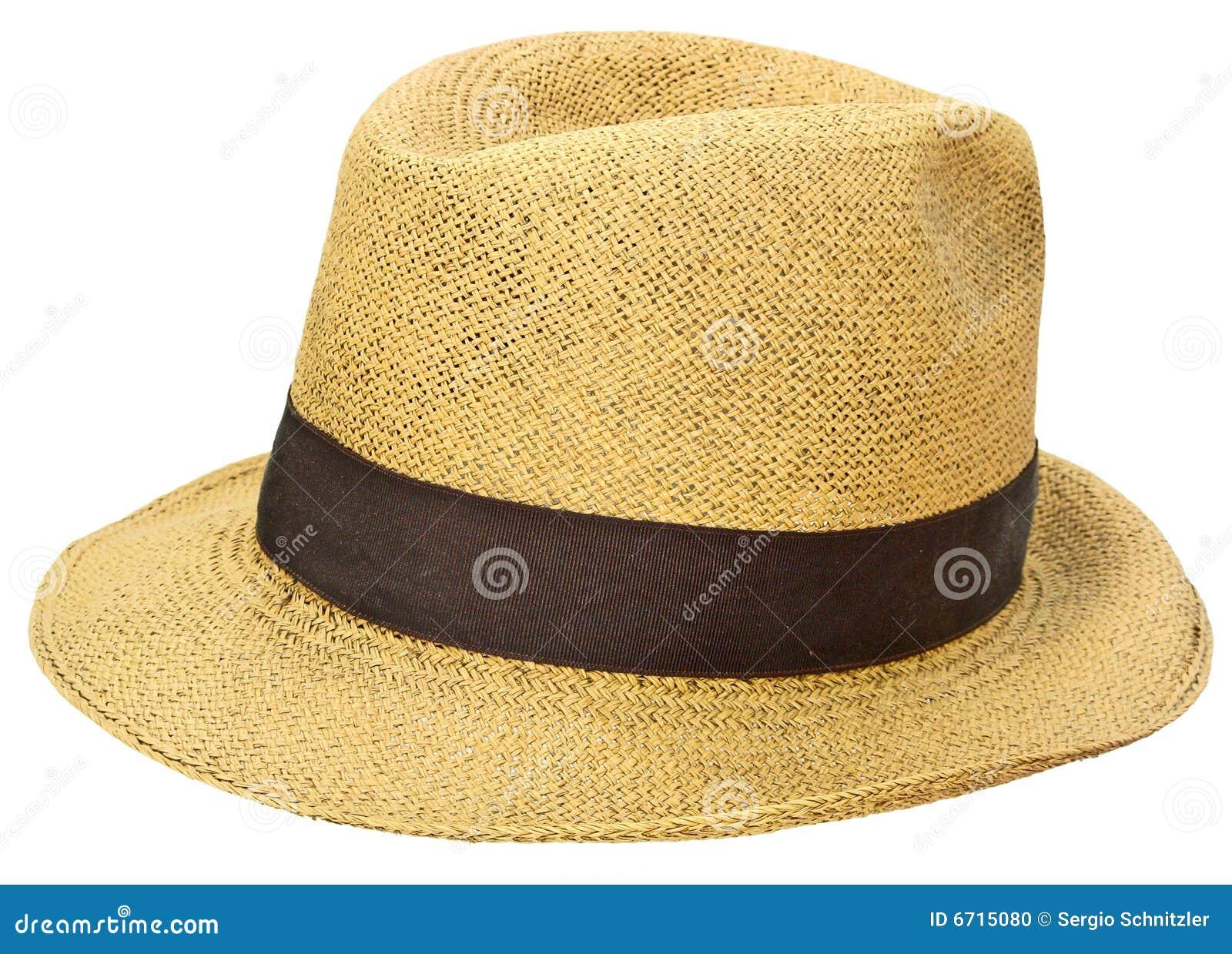 Paille de panamanian de chapeau