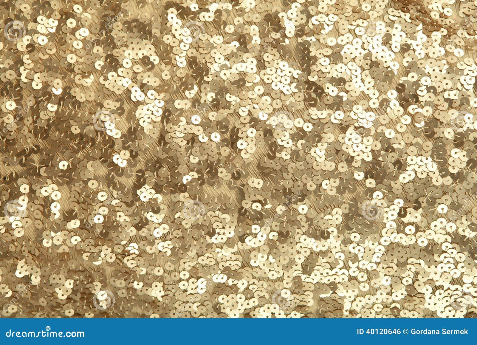 paillettes d 39 or photo stock image du perl sequined 40120646. Black Bedroom Furniture Sets. Home Design Ideas
