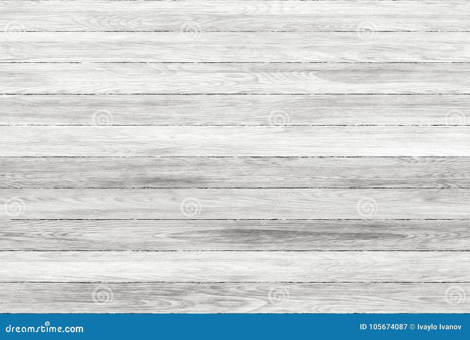 Painéis lavados branco da madeira do grunge E Assoalho de madeira lavado velho do vintage da parede