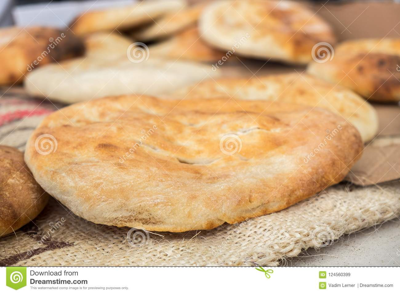 Pain arabe de tradition - pain pita