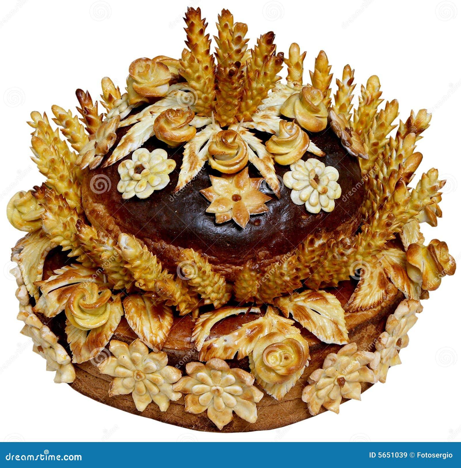 Pain de fête ukrainien d isolement 9 de vacances de boulangerie
