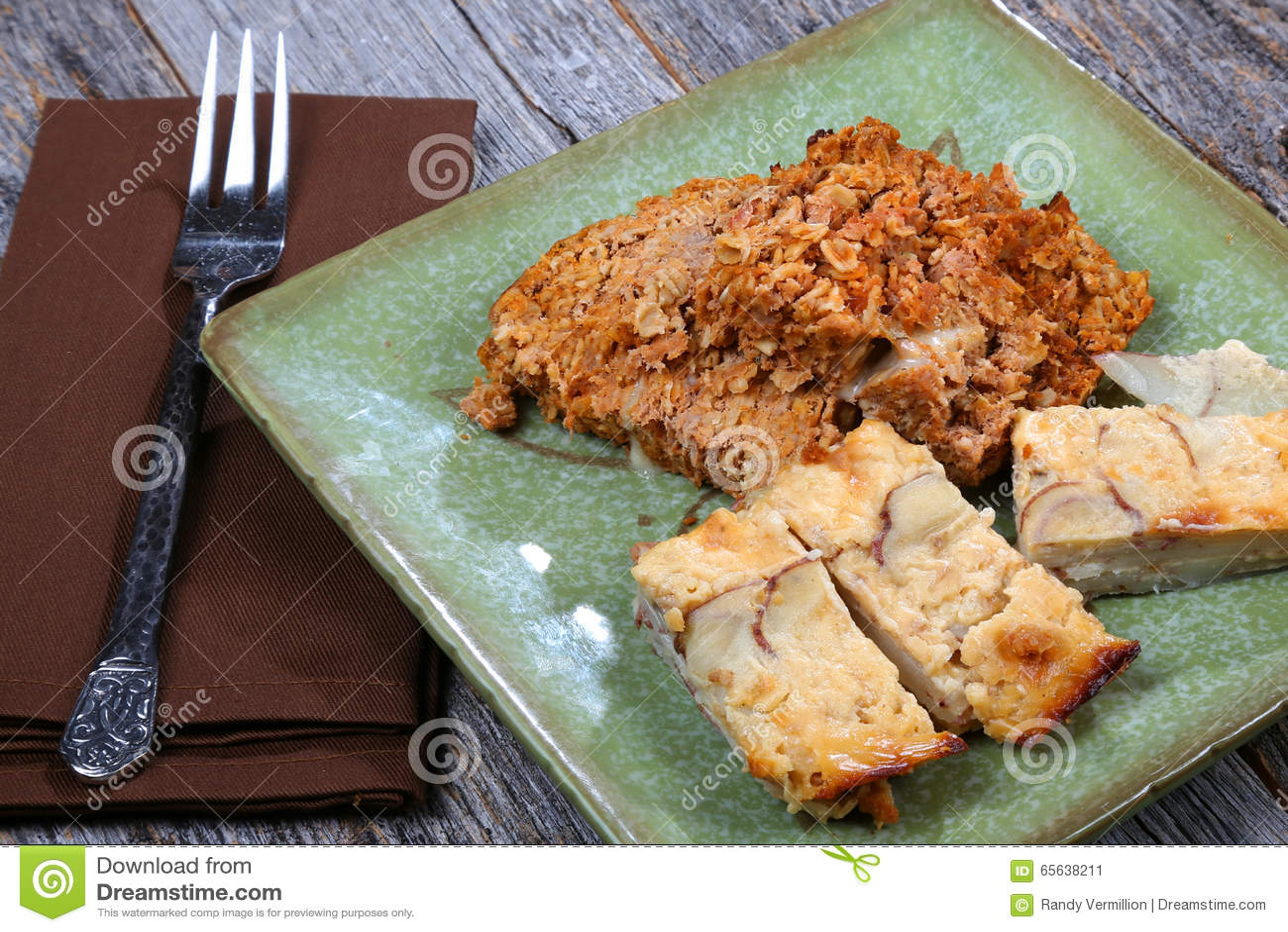 Pain de viande et pommes de terre