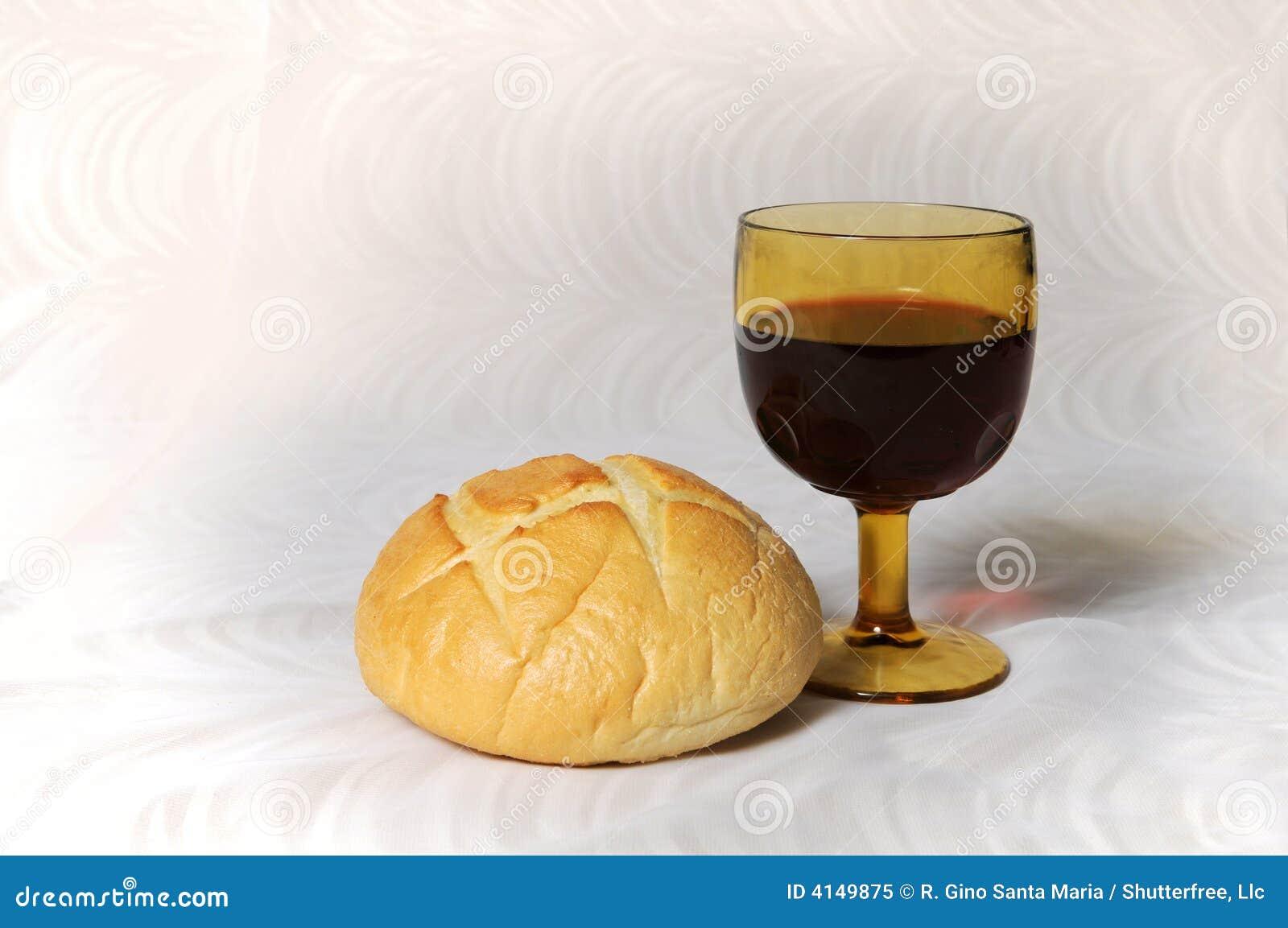 Pain Et Vin De ... Clipart Communion Bread And Wine