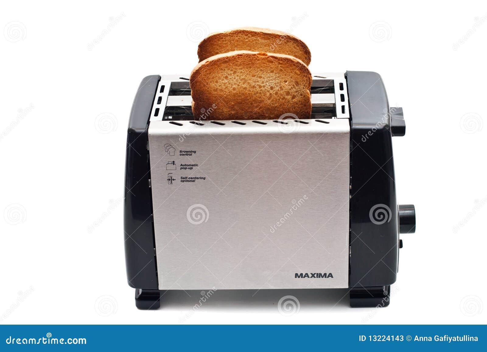 Pain frit dans le grille-pain