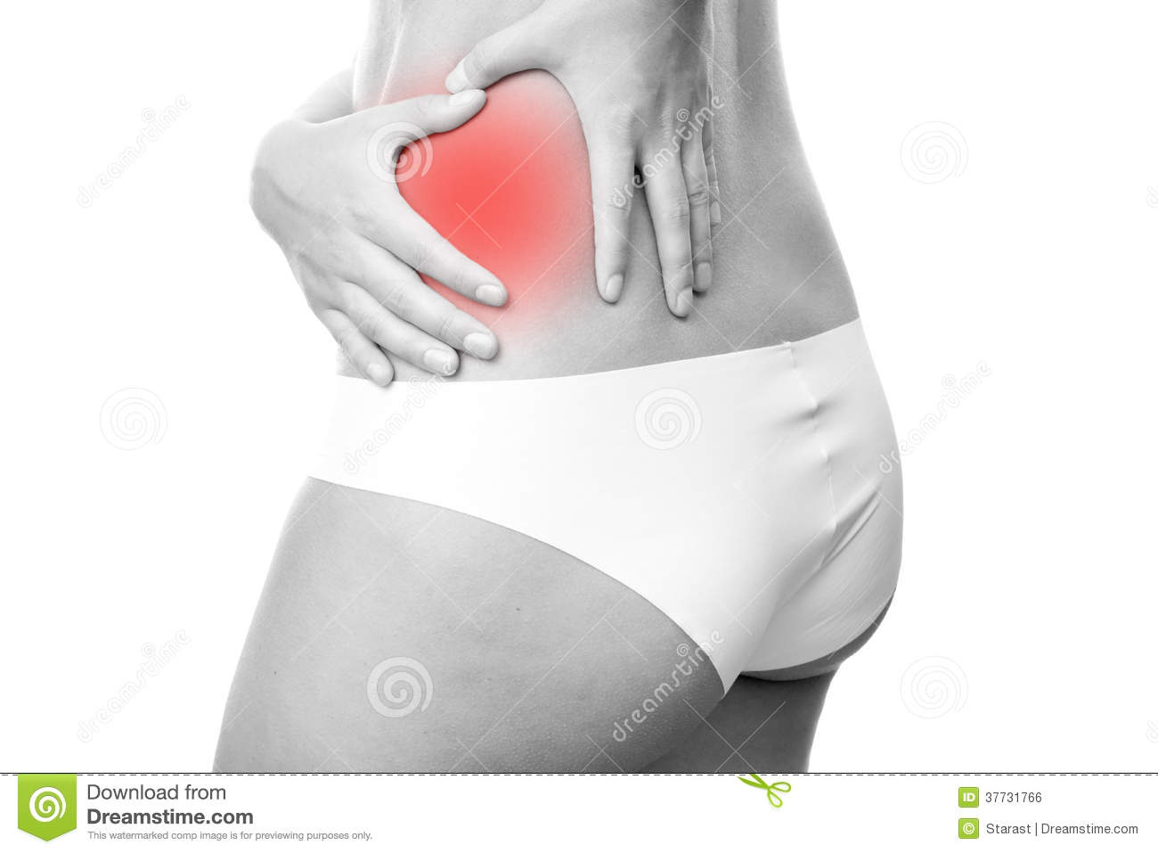 Pain in left side of body royalty free stock image image for Douleur au genou gauche interieur