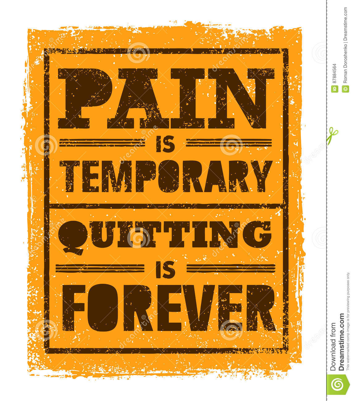 Pain Is Temporary Quitting Is Forever Workout And Fitness