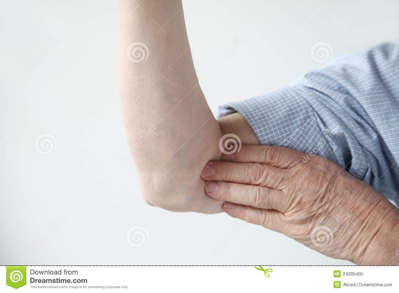Pain in upper arm royalty free stock photo image 24205405