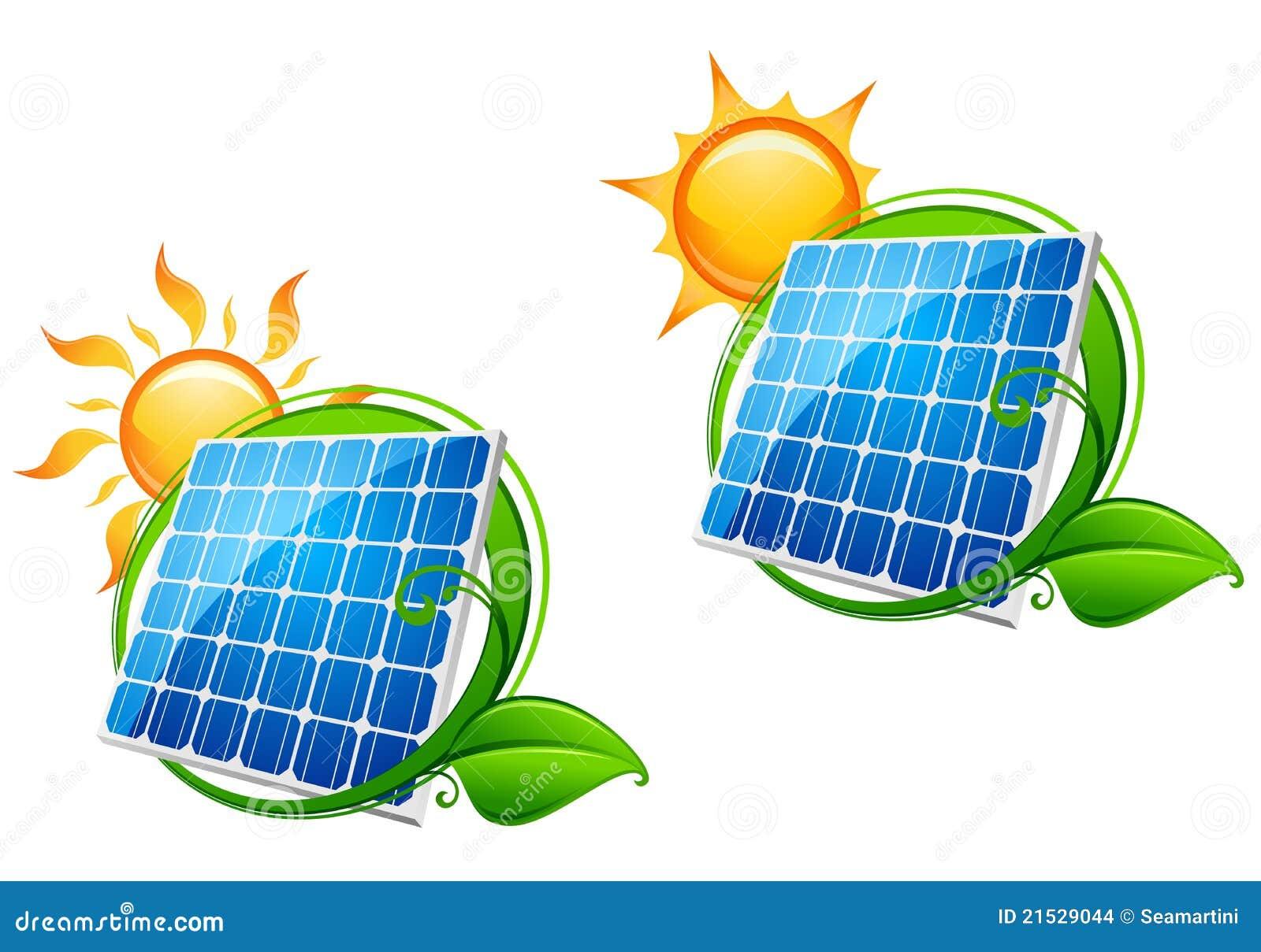 Painel Da Energia Solar Ilustra 231 227 O Do Vetor Ilustra 231 227 O De