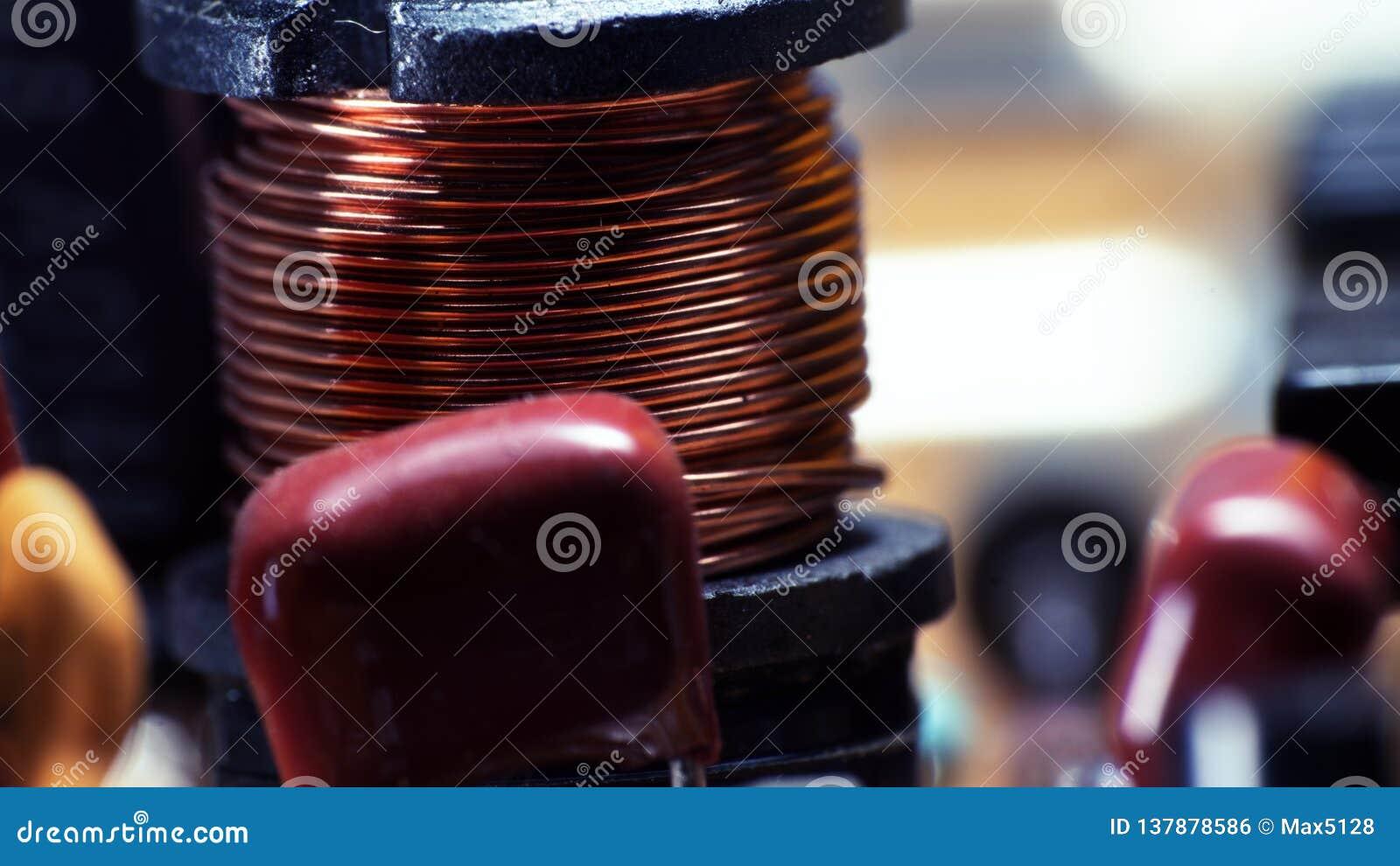 Painel de controlo ultra macro da impressora do fio do capacitor
