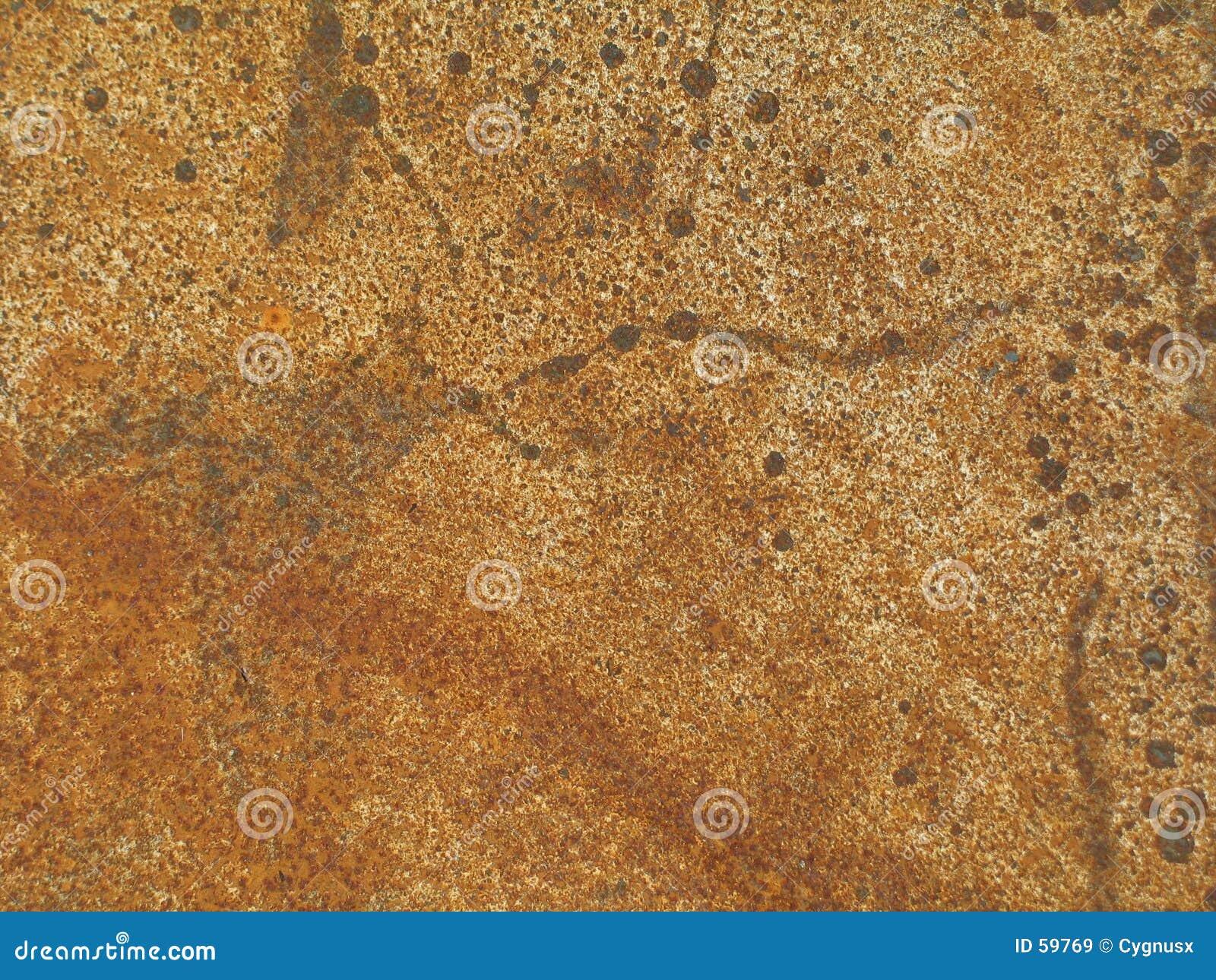 Painel oxidado do metal
