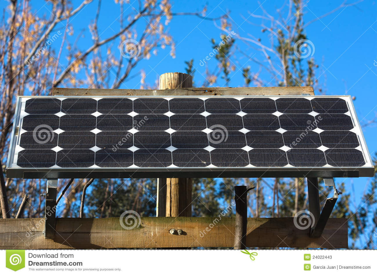 Painel solar autônomo