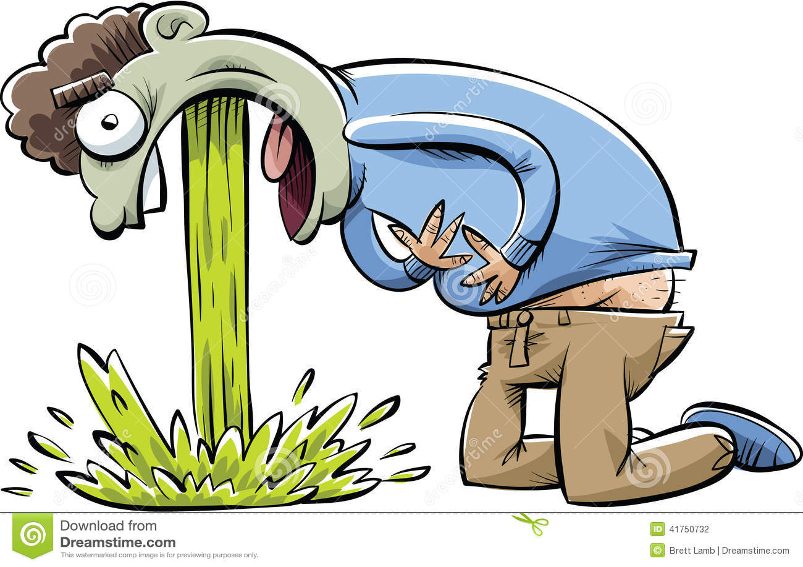 painful-puke-cartoon-man-pain-as-vomits-41750732