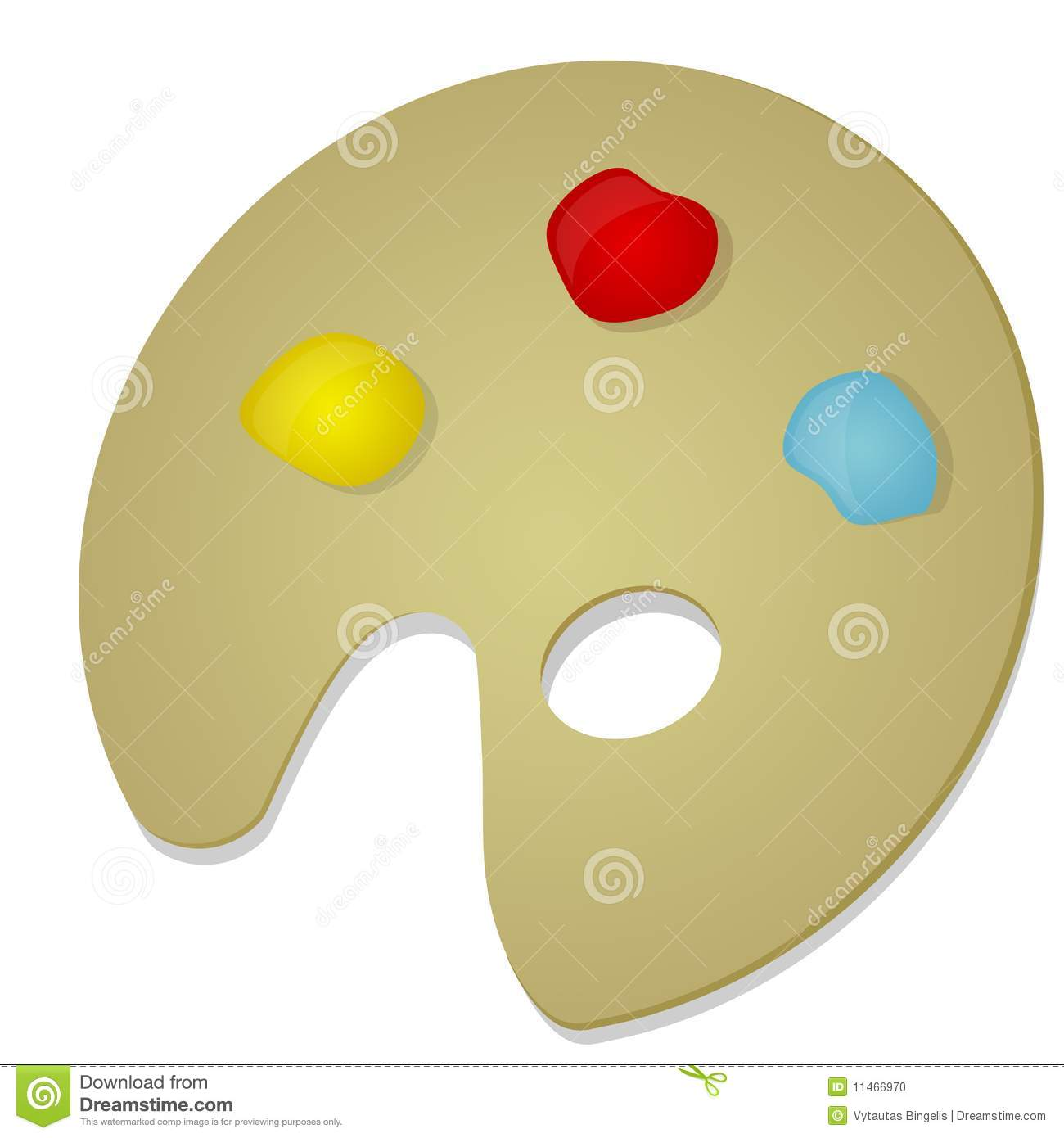 Paint stock photo image 11466970 for Different yellow paint colors