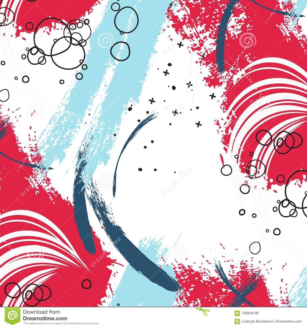Paint Background Poster Stain Trendy Scrapbook Cover Modern Fabric