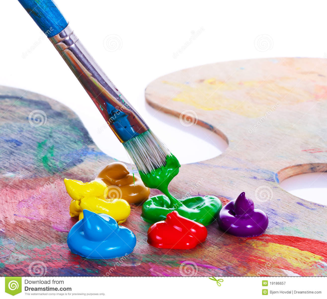 Paint Brush Royalty Free Stock Photography - Image: 19186657
