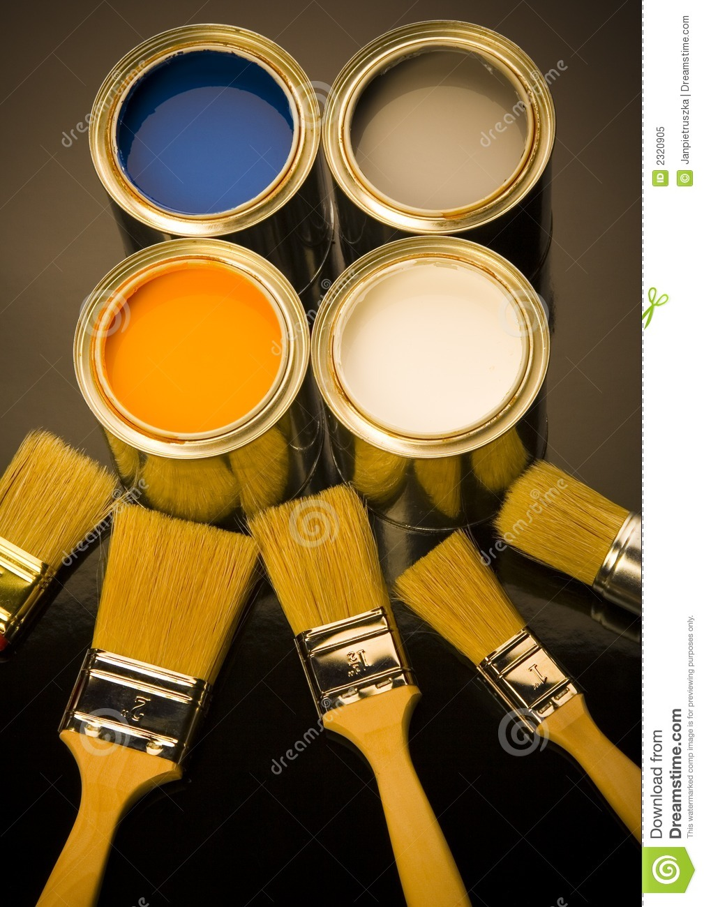 Paint and brush royalty free stock photo image 2320905 for Free photo paint