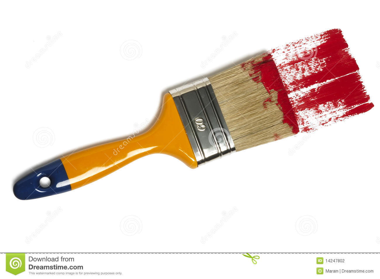 paint brush with color painting stock photo image of stroke