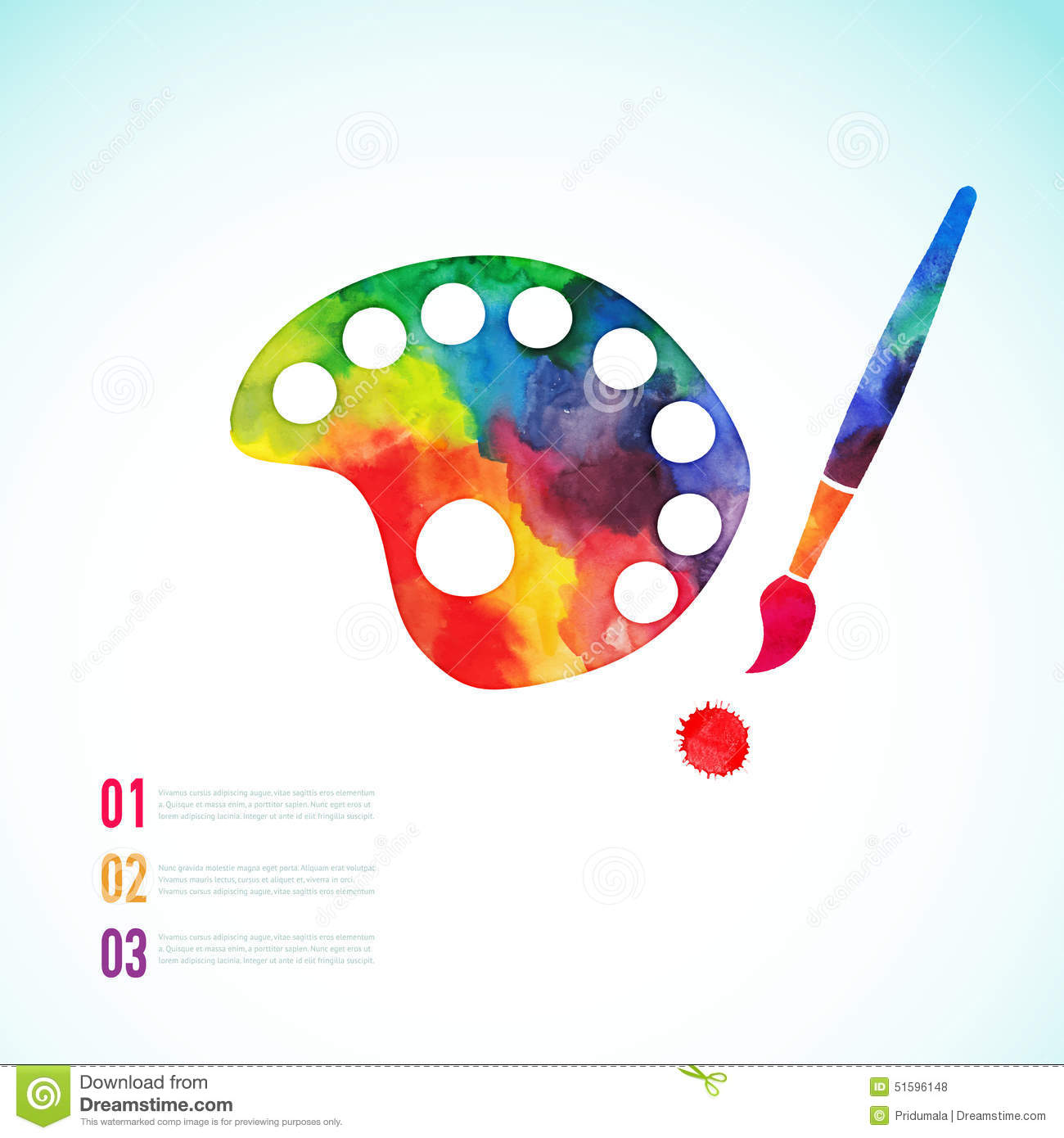 paint brush with palette icon vector  art palette stock paint palette clip art free paint palette clip art free