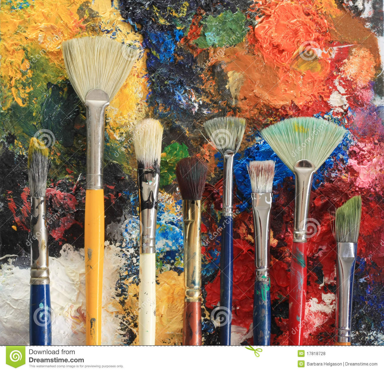 Paint brushes royalty free stock photos image 17818728 for Photos to paint