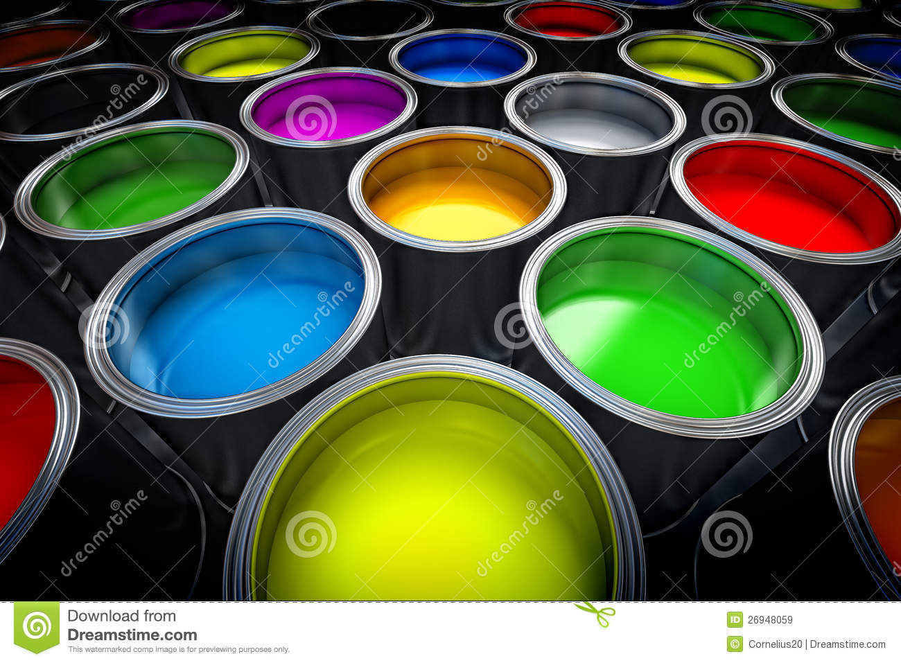 Paint cans royalty free stock images image 26948059 for Free photo paint
