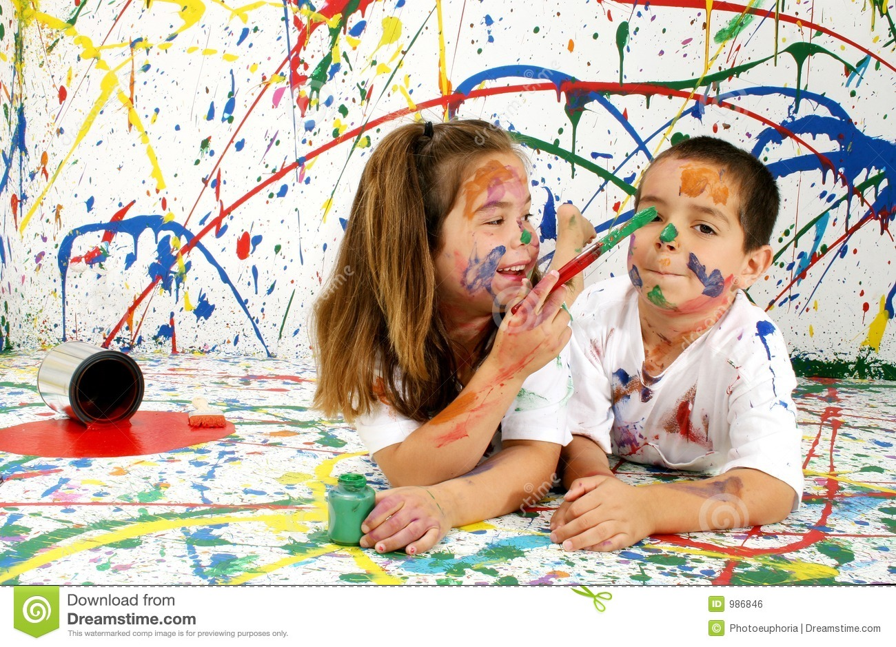 Free Barn Plans Paint Children Royalty Free Stock Image Image 986846