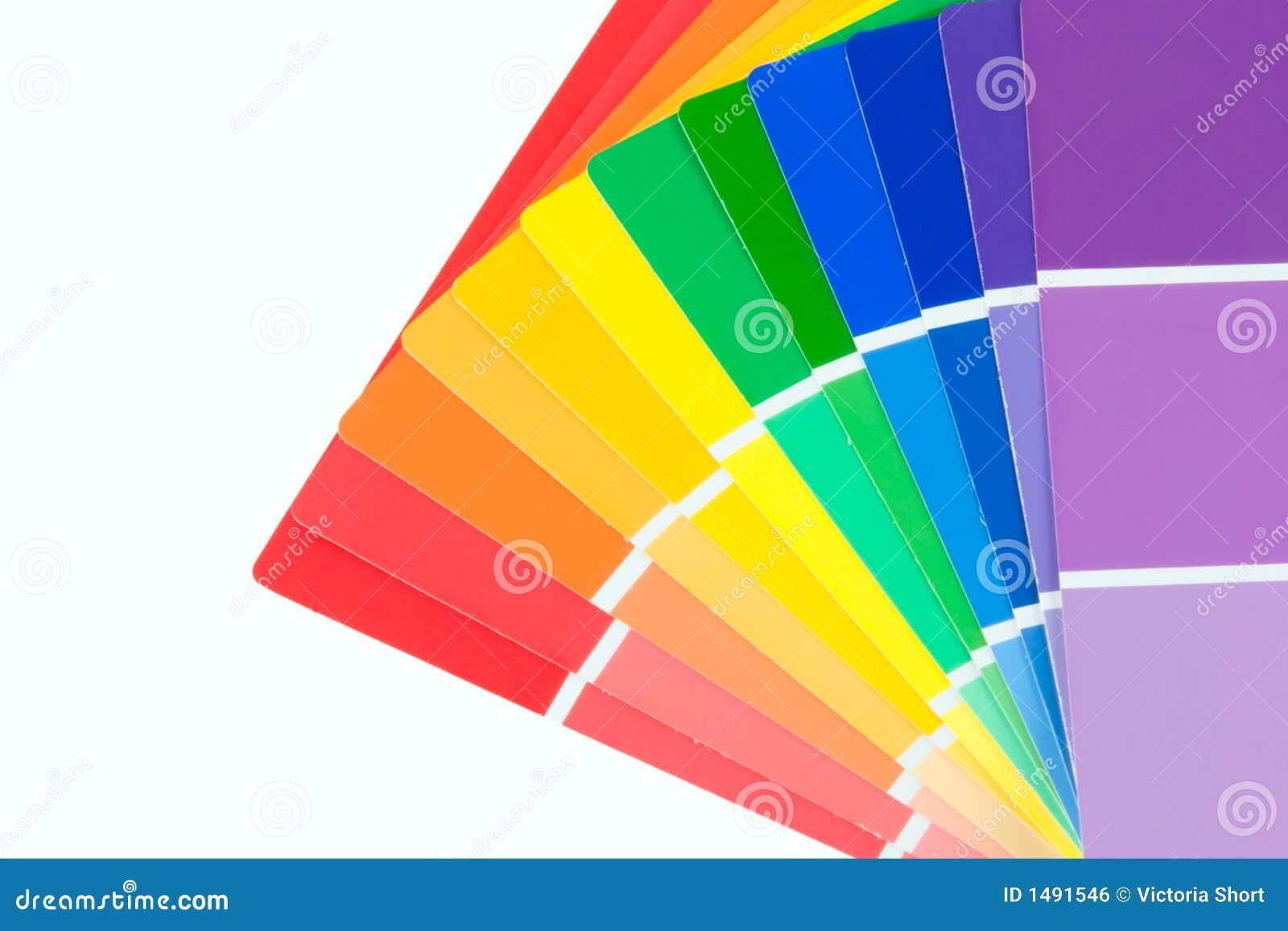 Color Chips Paint