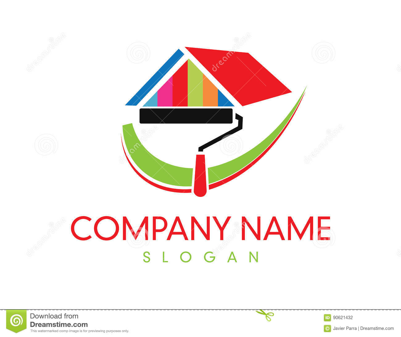 Logos for painting company