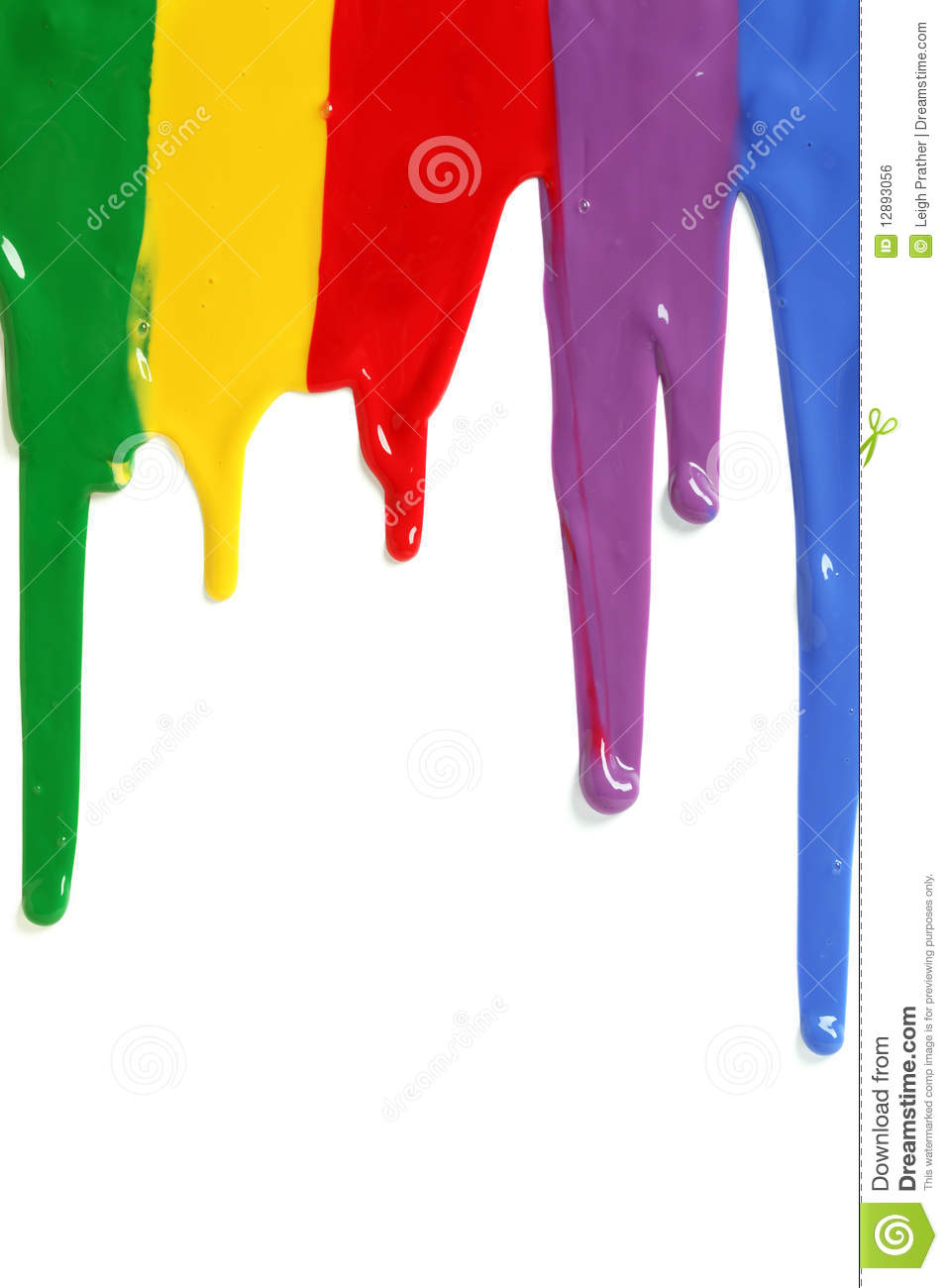 Paint Dripping Royalty Free Stock Image - Image: 12893056