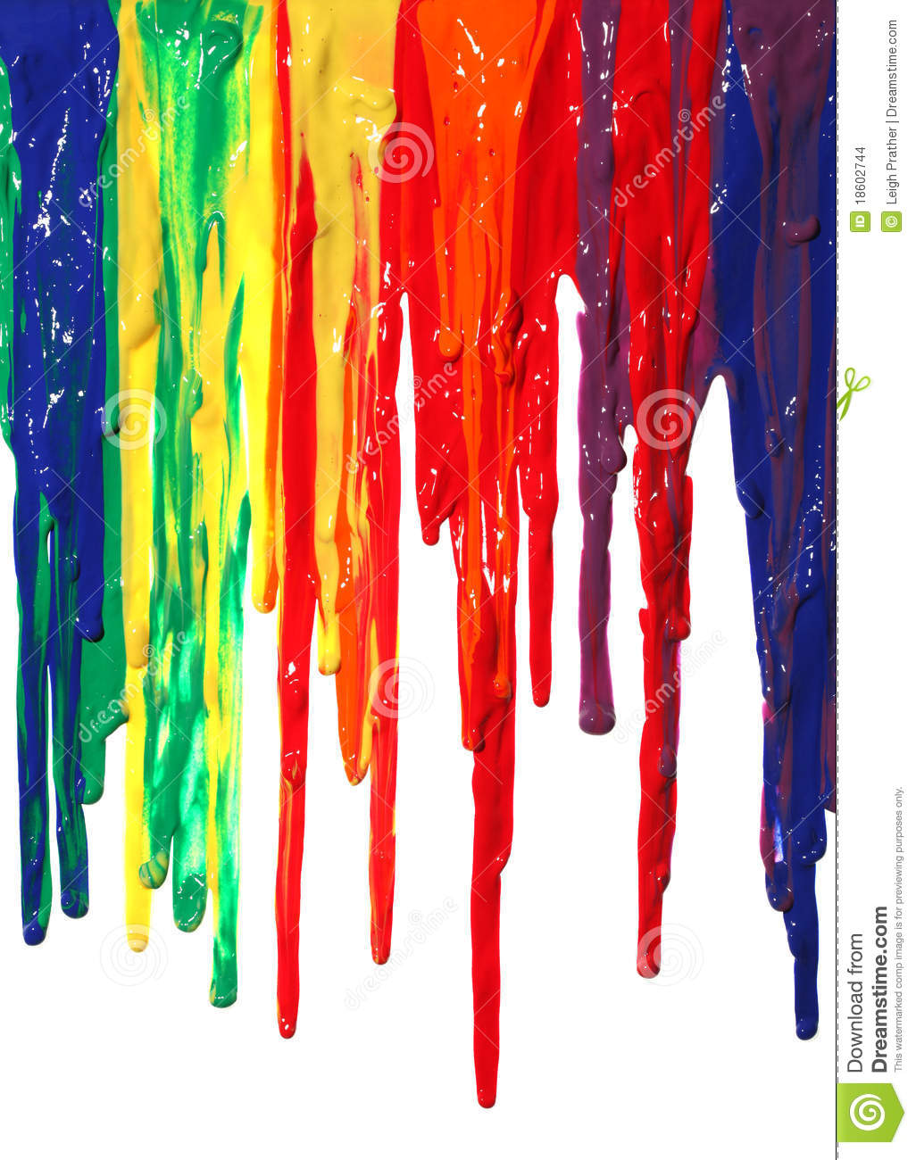 Paint Dripping Stock Images - Image: 18602744