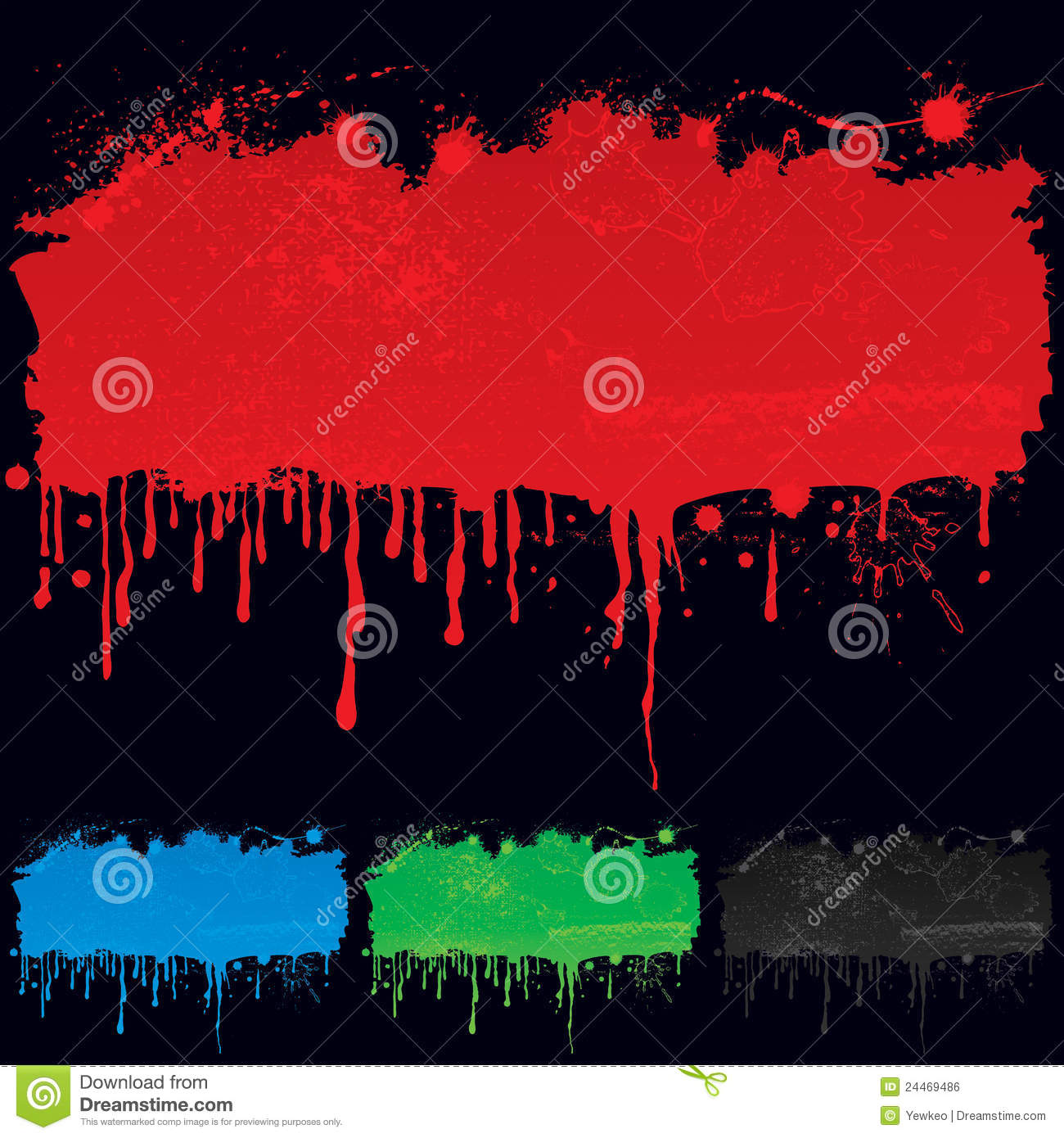Paint Dripping Royalty Free Stock Image - Image: 24469486