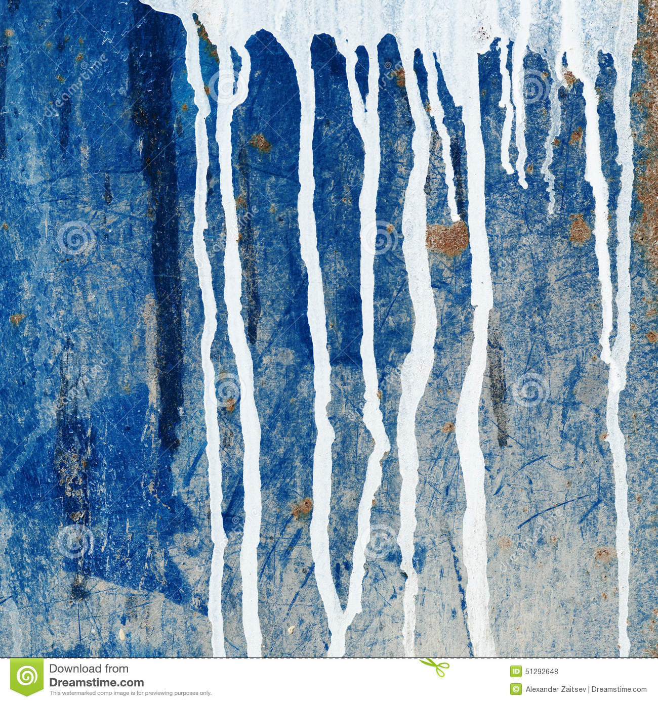 Dripping Paint Wall Design : Paint dripping wall stock illustration image