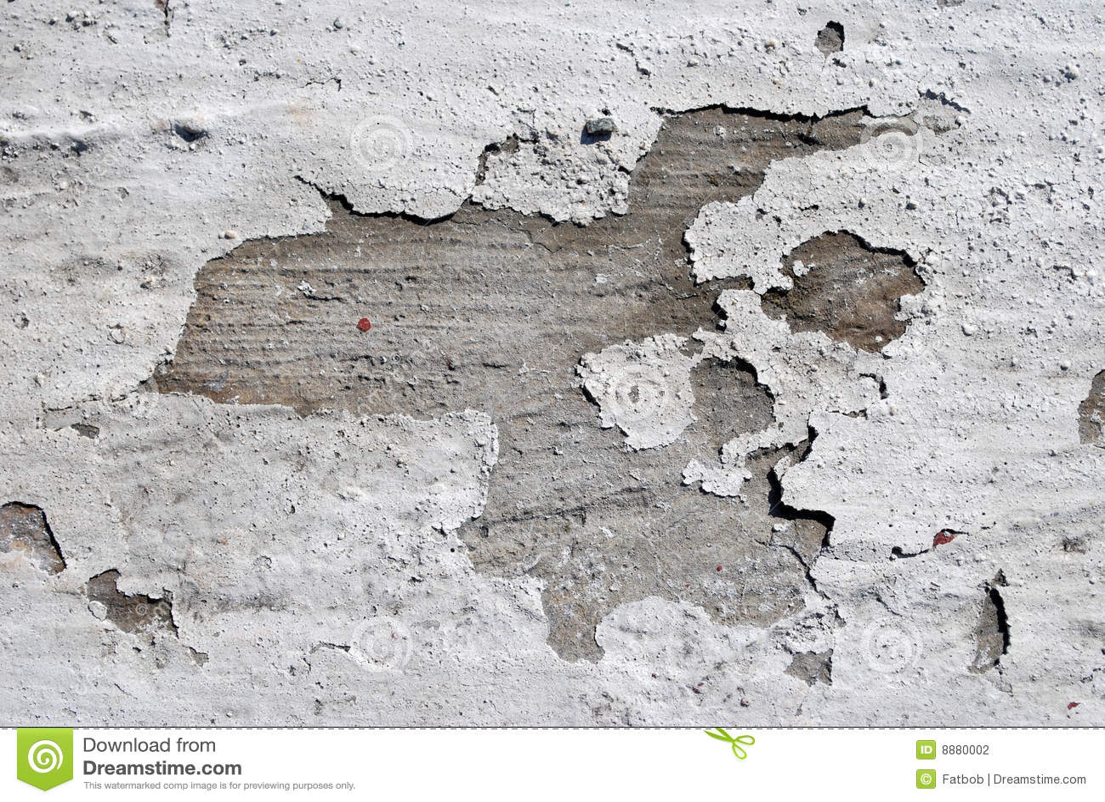 Paint Peeling On Concrete Wall Stock Photo Image 8880002