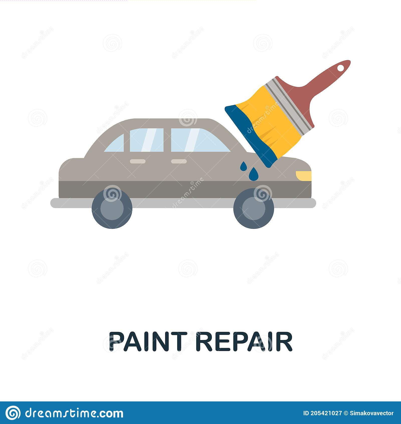 Car Paint Repair Stock Illustrations 1 743 Car Paint Repair Stock Illustrations Vectors Clipart Dreamstime