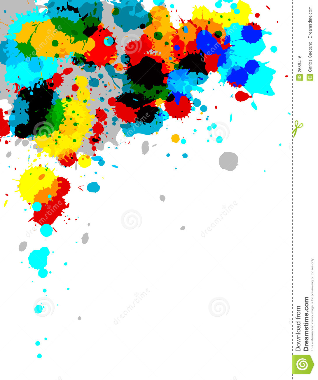 photoshop how to draw color splash