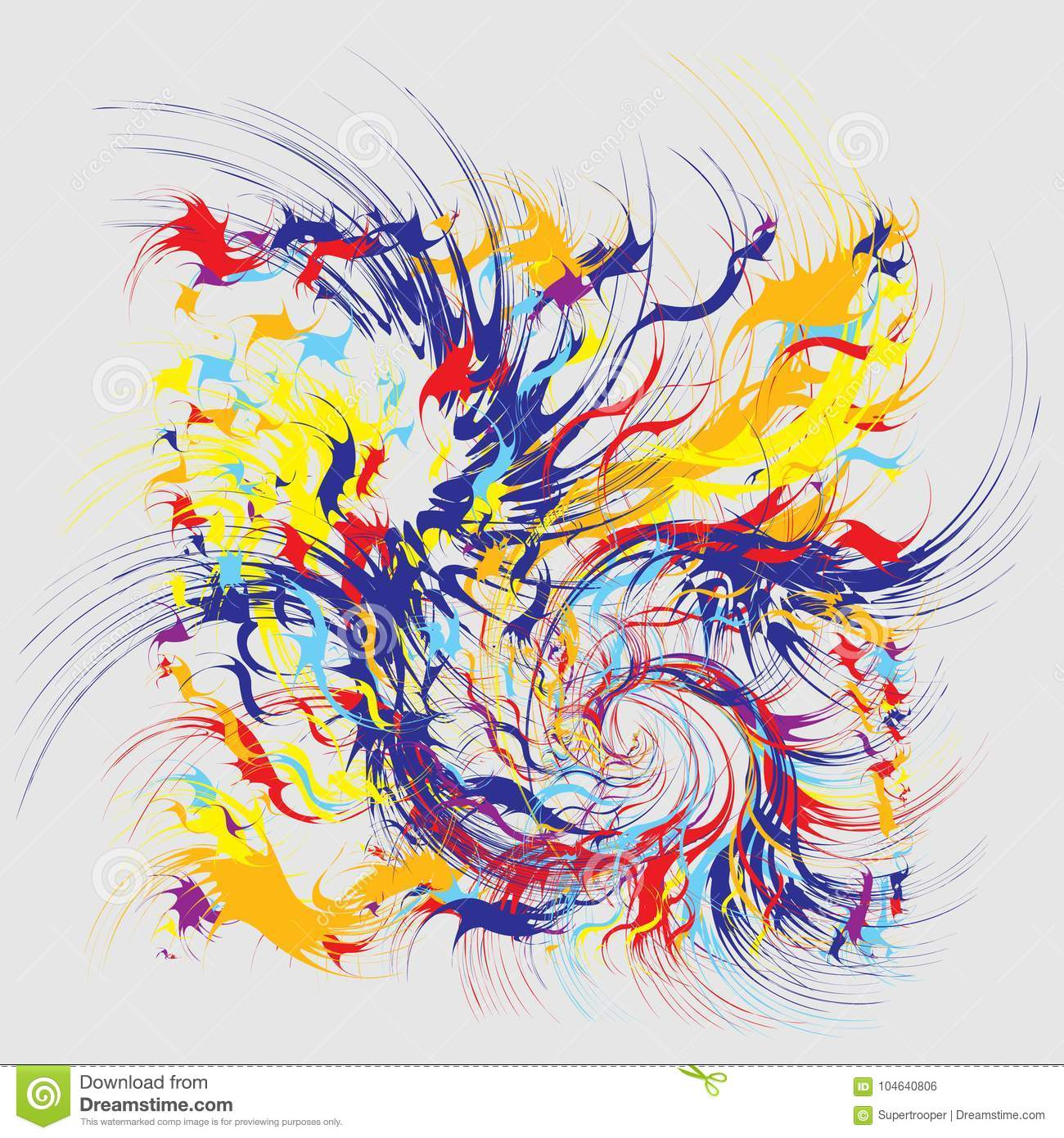 paint splashes abstract background stock vector illustration of