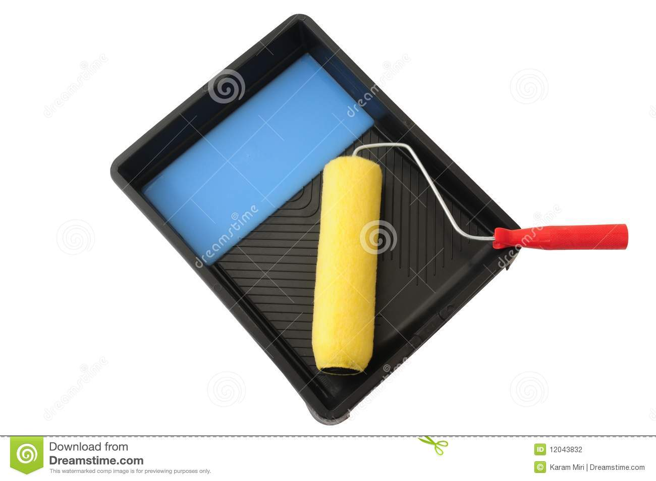 Paint Tools Stock Photography Image 12043832