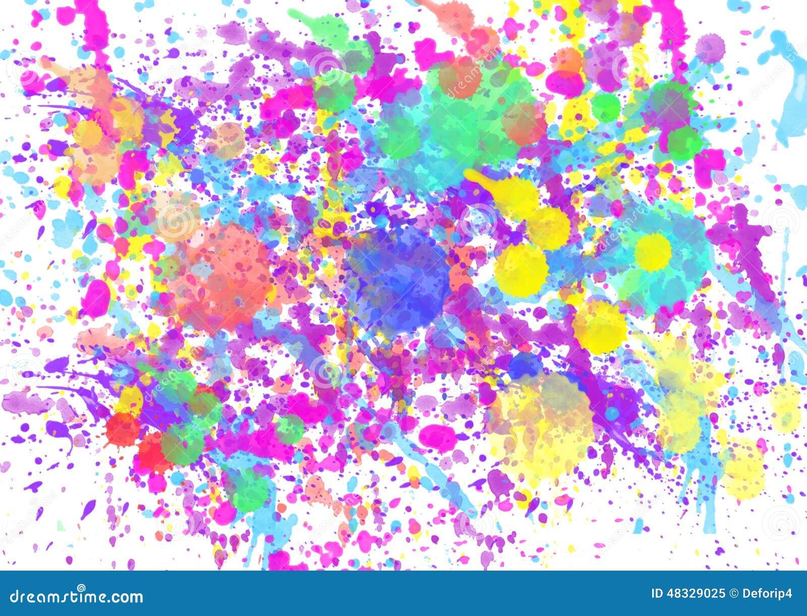 paint watercolor splatter spray stock illustration image 48329025. Black Bedroom Furniture Sets. Home Design Ideas