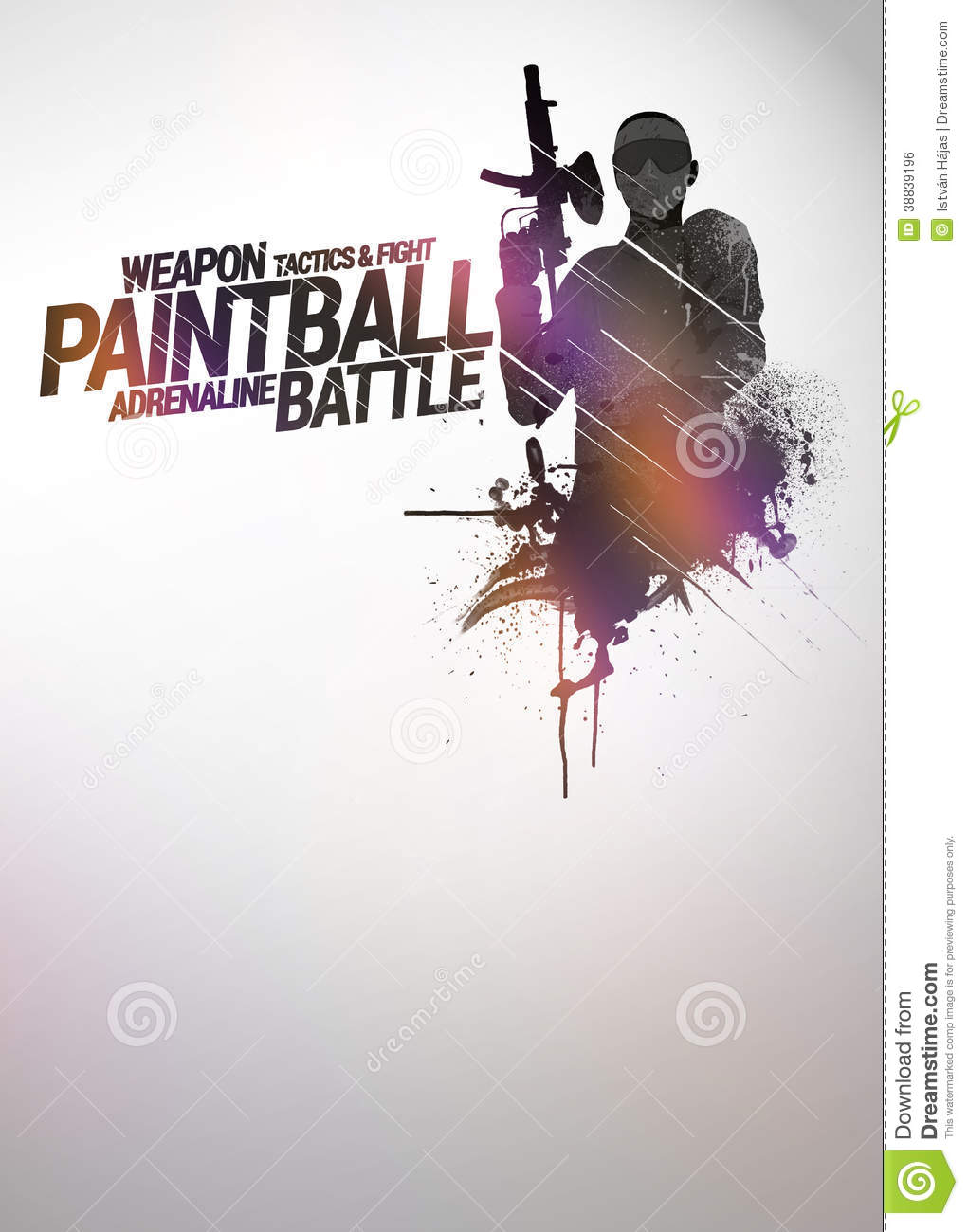 Paintball Or Airsoft Background Stock Photo - Image: 38839196