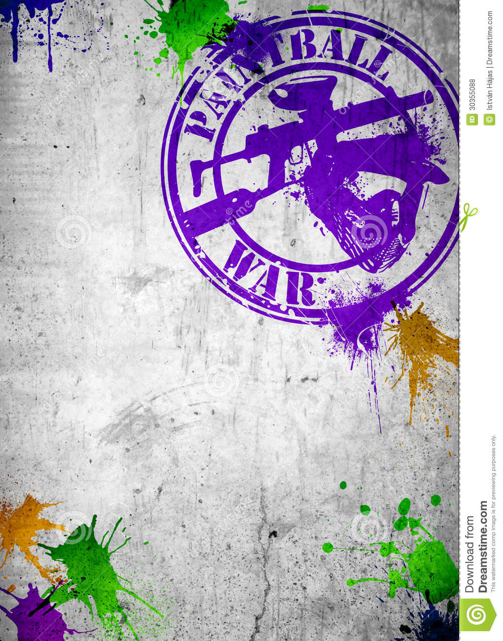 Paintball Background Royalty Free Stock Photos Image