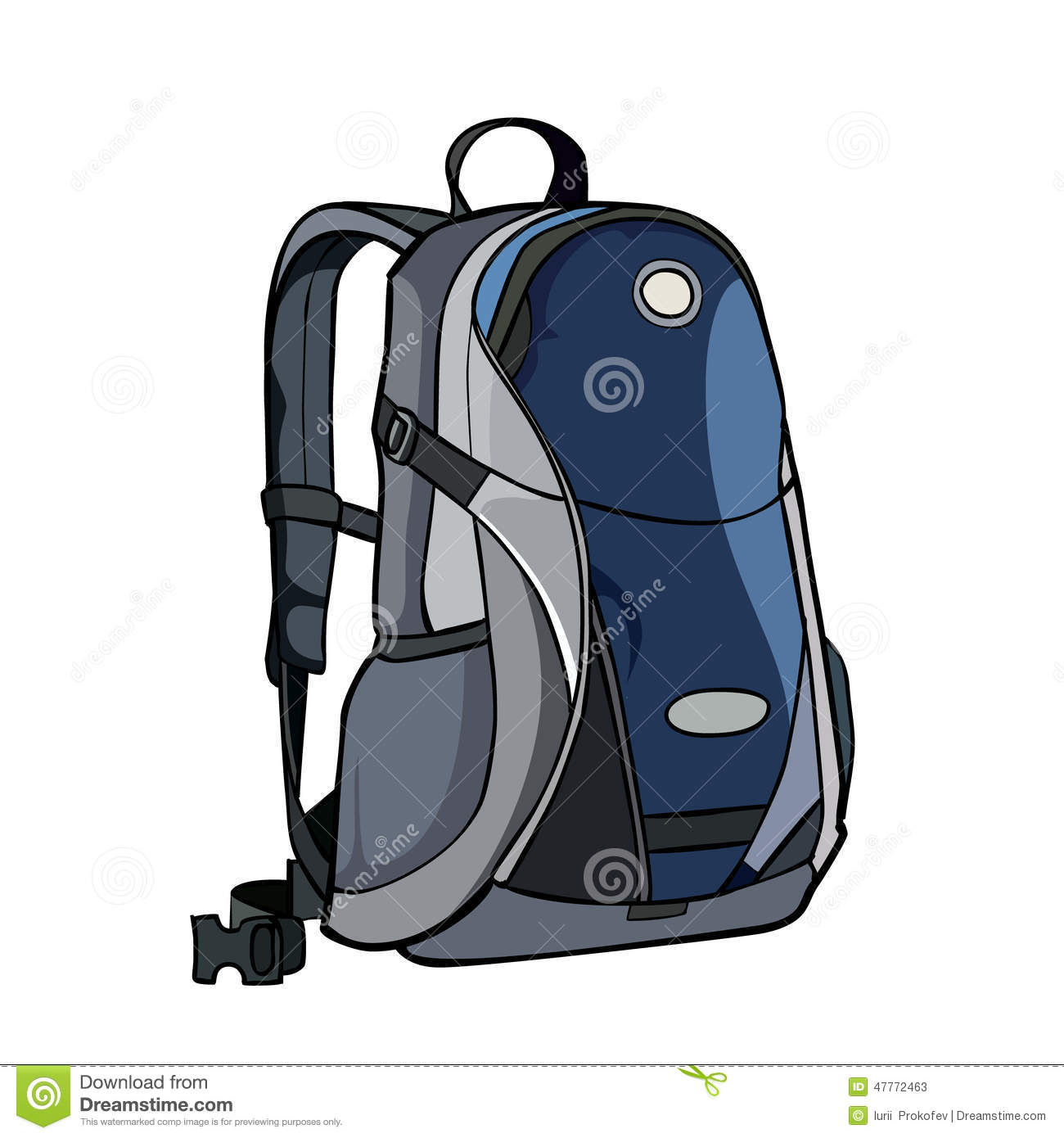 Painted Backpack Stock Illustrations – 227 Painted Backpack Stock  Illustrations 35e7c58b9dab7