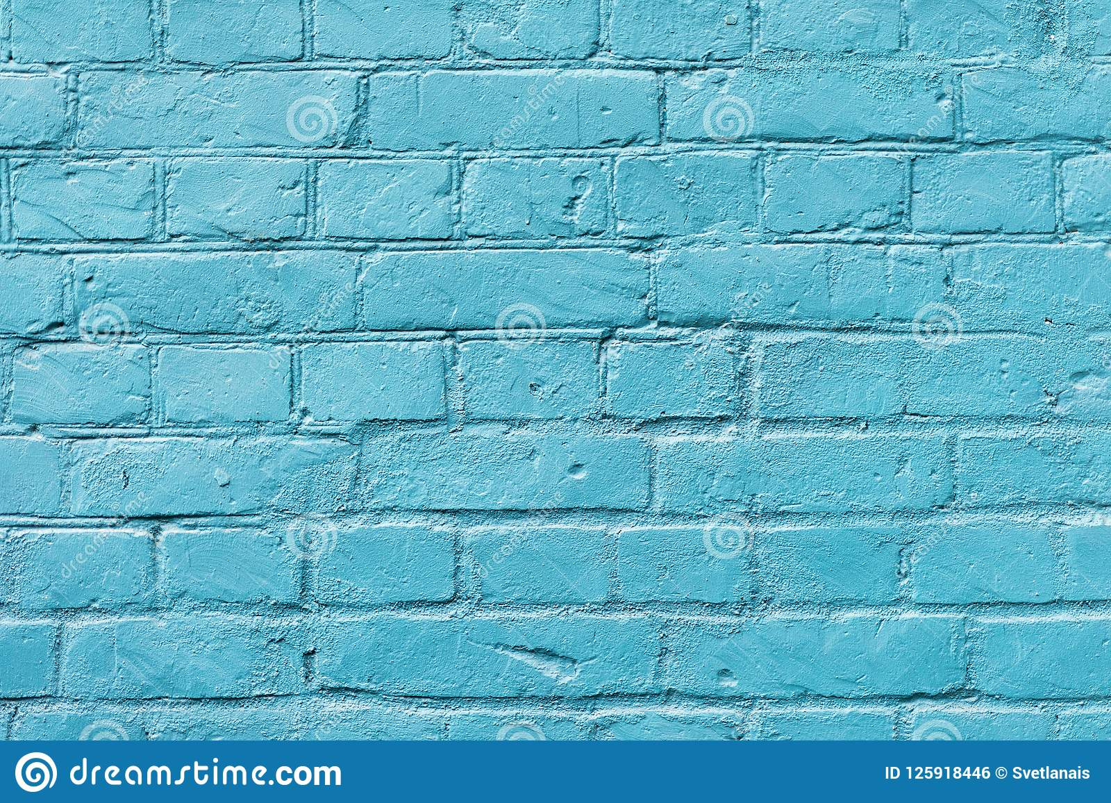 Amazing Painted Brick Surface Close Up With Celestial Color Of Paint Home Interior And Landscaping Ologienasavecom