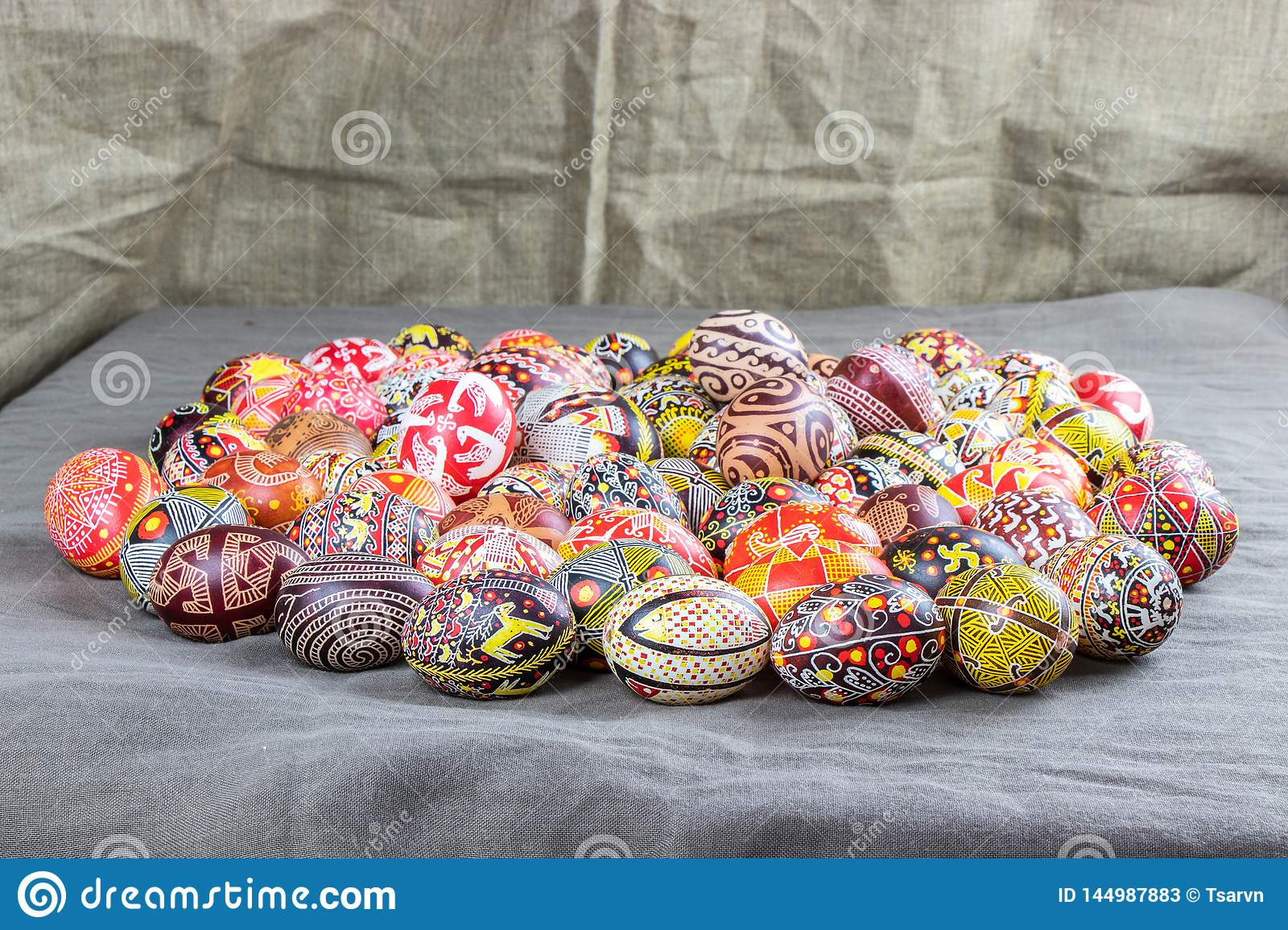 The Easter eggs from the collection The Peace of Lidia Borysenko