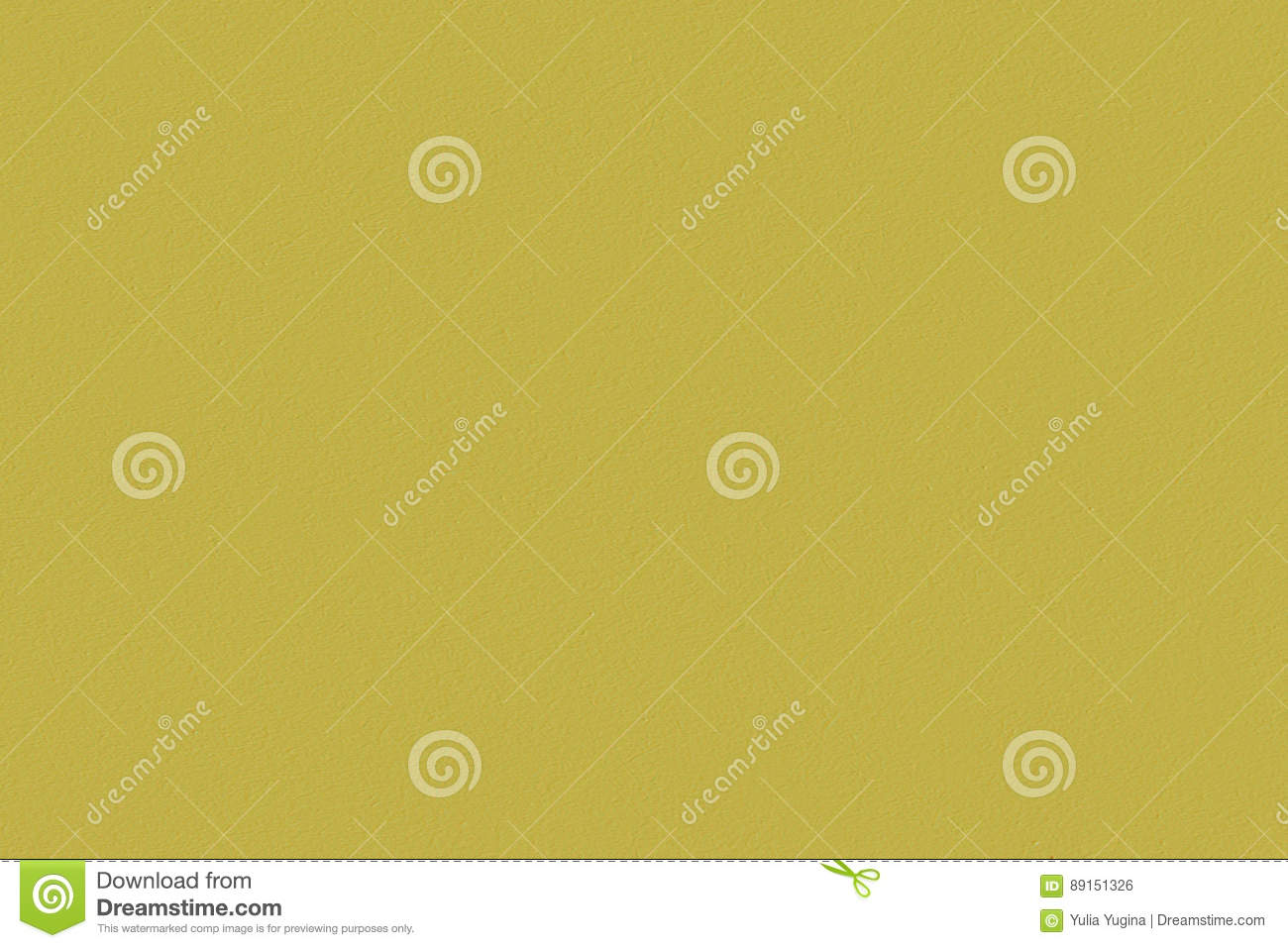 Painted Empty Sheet Of Plywood Mustard, Yellow-brown Color